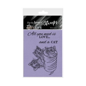 For the Love of Stamps - Cat - Kitty Cats