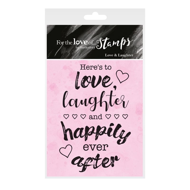 For the Love of Stamps - Clear Stamp - Love & Laughter