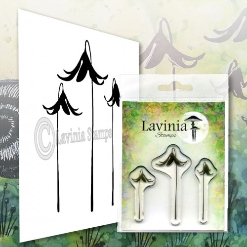 Lavinia -  Fairy Bell Set - Clear Polymer Stamp