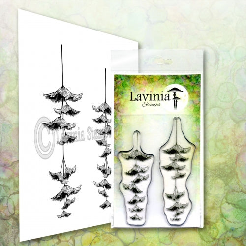 Lavinia -  Fairy Bonnet Set - Clear Polymer Stamp