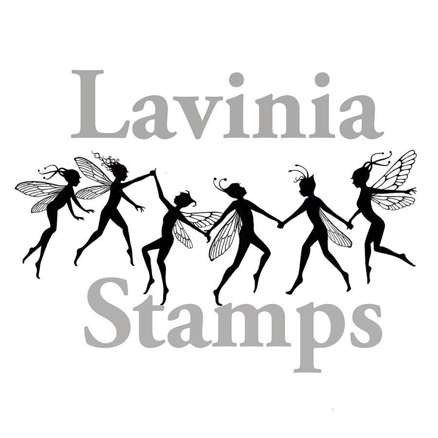 Lavinia - Fairy Chain Large - Clear Polymer Stamp