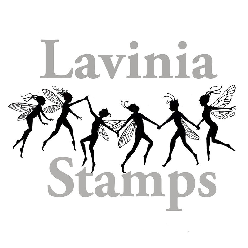 Lavinia - Fairy Chain Small - Clear Polymer Stamp