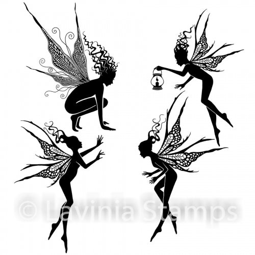 Lavinia - Fairy Foragers - Clear Polymer Stamp