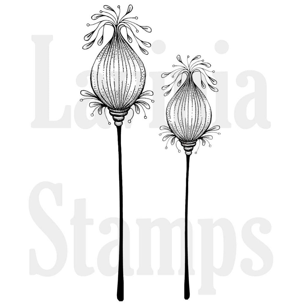 Lavinia - Fairy Pods - Clear Polymer Stamp