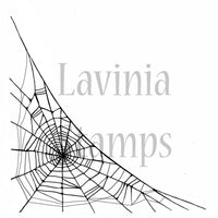 Lavinia - Fairy Web - Clear Polymer Stamp