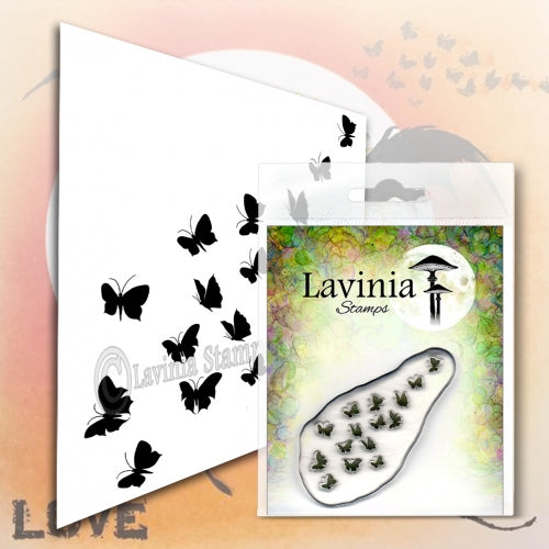Lavinia - Flutterbies - Clear Polymer Stamp