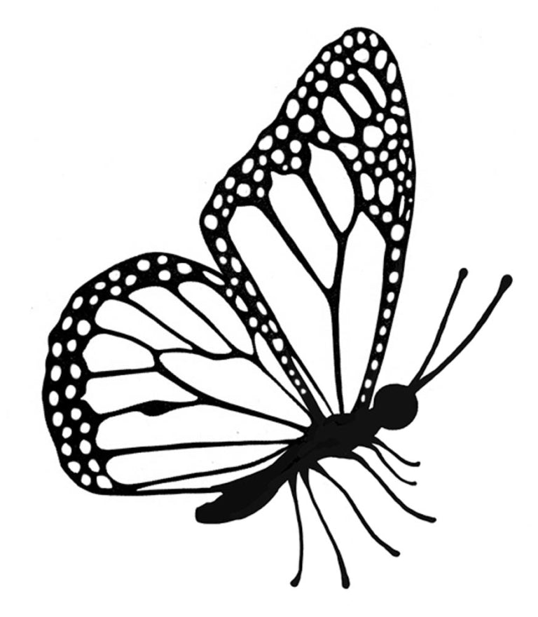 Lavinia - Flutterby Miniature - Clear Polymer Stamp
