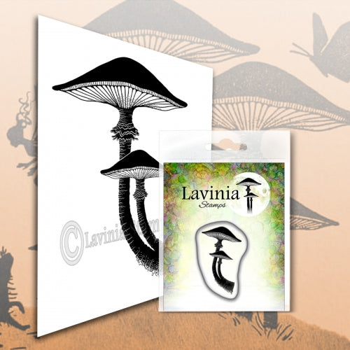 Lavinia - Mini Forest Mushroom - Clear Polymer Stamp