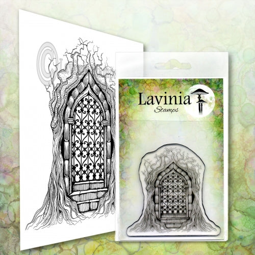 Lavinia - Forest Temple - Clear Polymer Stamp