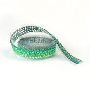 Hunkydory - Diamond Sparkles Gemstone Roll - Gorgeous Greens