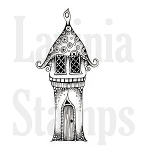 Lavinia - Harrieta's House - Clear Polymer Stamp