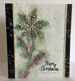 PaperArtsy - Kay Carley 09 - Rubber Cling Mounted Stamp Set