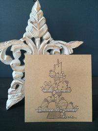 PaperArtsy - JOFY 47 - Rubber Cling Mounted Stamp Set