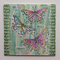 PaperArtsy - Kay Carley 25 - Rubber Cling Mounted Stamp Set