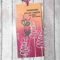 PaperArtsy - JOFY 82 - Rubber Cling Mounted Stamp Set