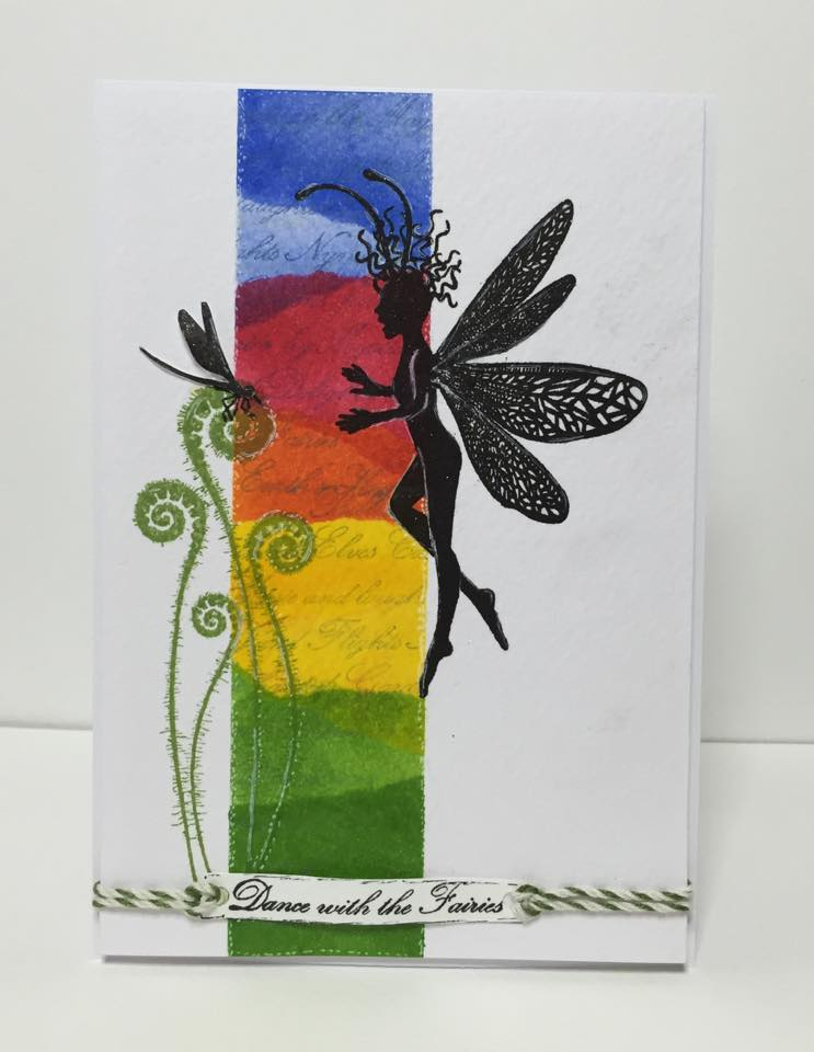 Lavinia - Dragonfly Whispers - Clear Polymer Stamp
