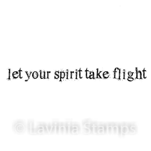 Lavinia - Let Your Spirit Take Flight - Clear Polymer Stamp