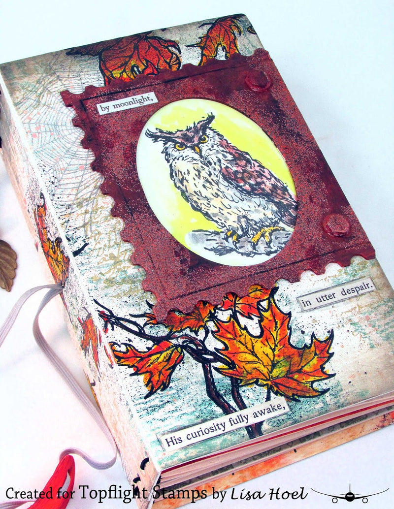 IndigoBlu - Cling Mounted Stamp - Autumn Nights
