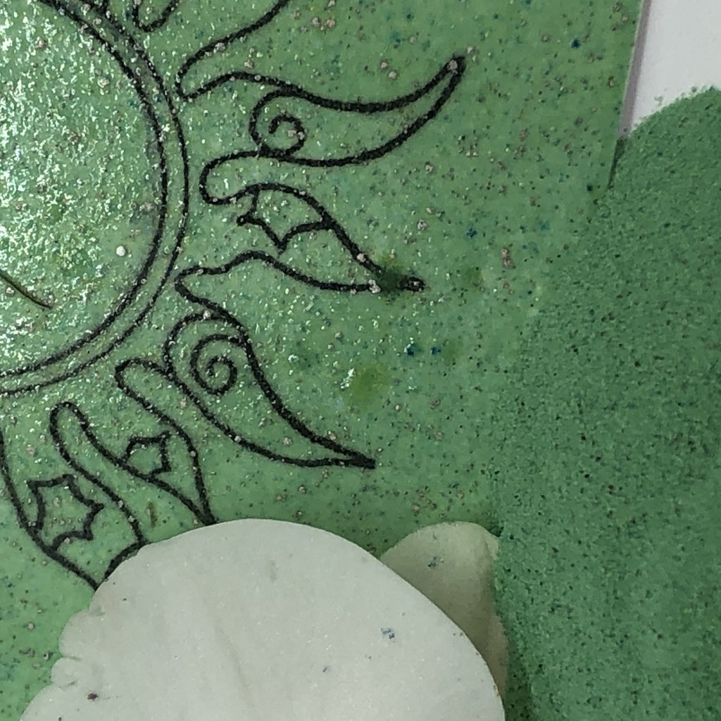 Emerald Creek - Gwen LaFleur - Boho Blends Embossing Powder - Mineral Green