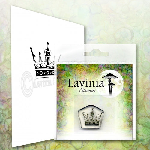 Lavinia - Mini Crown - Clear Polymer Stamp