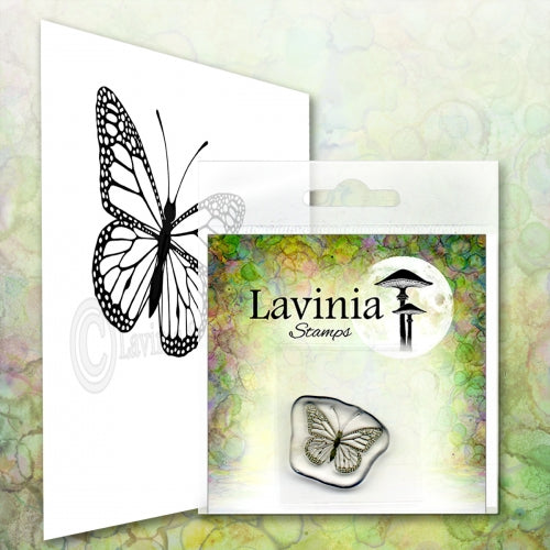 Lavinia - Mini Flutter - Clear Polymer Stamp