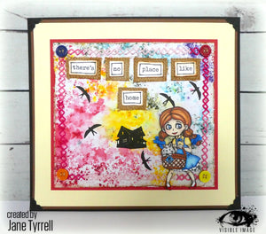 Visible Image - Oz - Dorothy & Toto - Clear Polymer Stamp Set