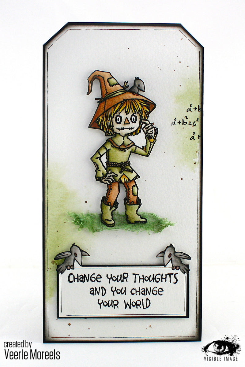 Visible Image - Oz - Scarecrow - Clear Polymer Stamp Set