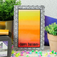 Hunkydory - Prism Ombre Ink Pad - Oranges