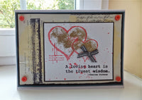 PaperArtsy - Sara Naumann 11 - Rubber Cling Mounted Stamp Set