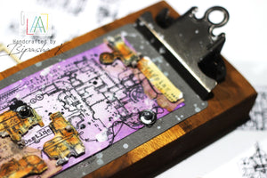 AALL & Create - Clear Border Stamp - #116 - Steampunk