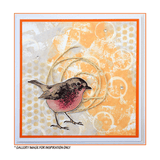 Crafty Individuals - Unmounted Rubber Stamp - Sweet Robin Redbreast