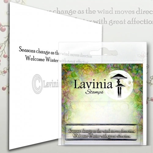 Lavinia - Seasons Change - Clear Polymer Stamp - PREORDER