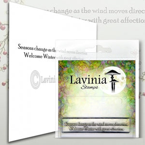 Lavinia - Seasons Change - Clear Polymer Stamp