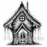 Lavinia - Shanty - Fairy House - Clear Polymer Stamp