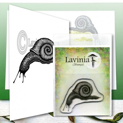 Lavinia - Sidney Snail - Clear Polymer Stamp