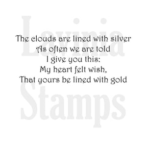 Lavinia - Silver Lining - Clear Polymer Stamp