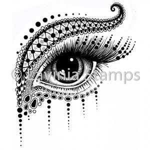 Lavinia - Simmi - Large Eye - Clear Polymer Stamp