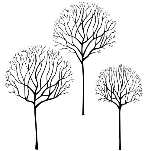 Lavinia - Skeleton Tree Scene - Clear Polymer Stamp