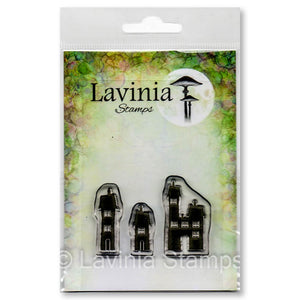 Lavinia - Small Dwellings - Clear Polymer Stamp