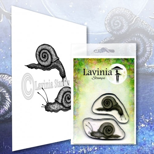 Lavinia - Snail Set - Clear Polymer Stamp