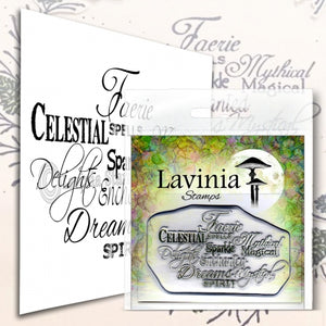 Lavinia - Faerie Spells - Clear Polymer Stamp