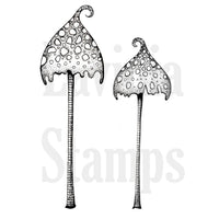 Lavinia - Spotty Toadstools - Clear Polymer Stamp