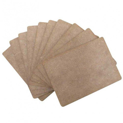 That's Crafty - Surfaces MDF ATC'S - PACK OF 10