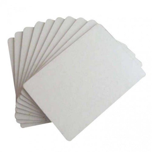That's Crafty - Surfaces White/Greyboard ATC'S - PACK OF 10