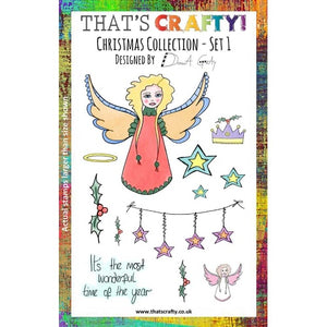 That's Crafty! - Donna Gray - Clear Stamp Set - Christmas Collection - Set 1
