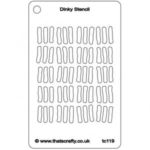 That's Crafty! - Stencil - Dinky Lines - TC119