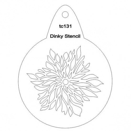 That's Crafty! - Stencil - Dahlia - TC131