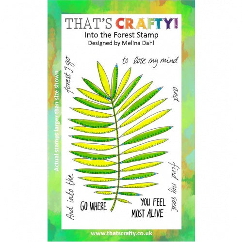 That's Crafty! - Melina Dahl - Clear Stamp Set - Into the forest