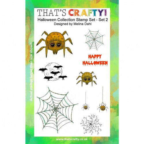 That's Crafty! - Melina Dahl - Clear Stamp Set - Halloween Collection 2