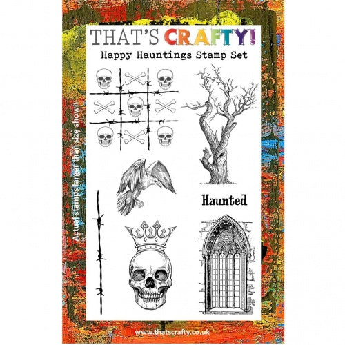 That's Crafty! - Clear Stamp Set - Happy Hauntings